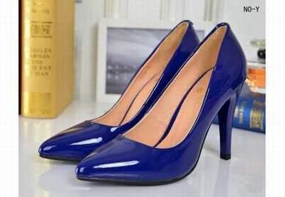 37e76b82896 Chaussures chanel bleu et blanc